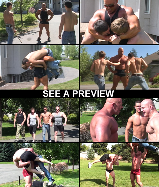 Muscular Punishment DVD